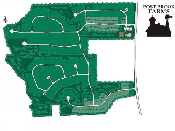 DR Horton Post Brook Farms Site Plan